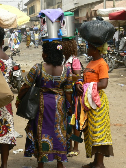 Street life in Lome