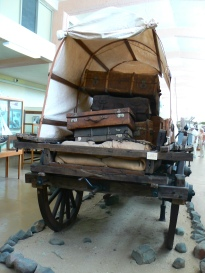 Trekker wagon at Luderitz museum