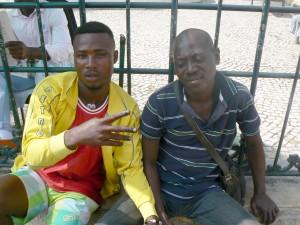 Angola shoeshine
