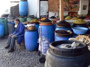 Casablanca olive seller