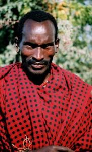 Masai villager