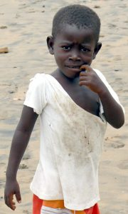 Sao Tome beach boy